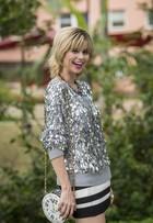Julianne Trevisol sobre cabelo curto, loiro e repicado: 'Chama mais atenção'