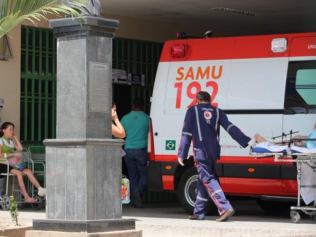 HUT - Hospital de Urgência de Teresina (Foto: Fernando Brito/G1)