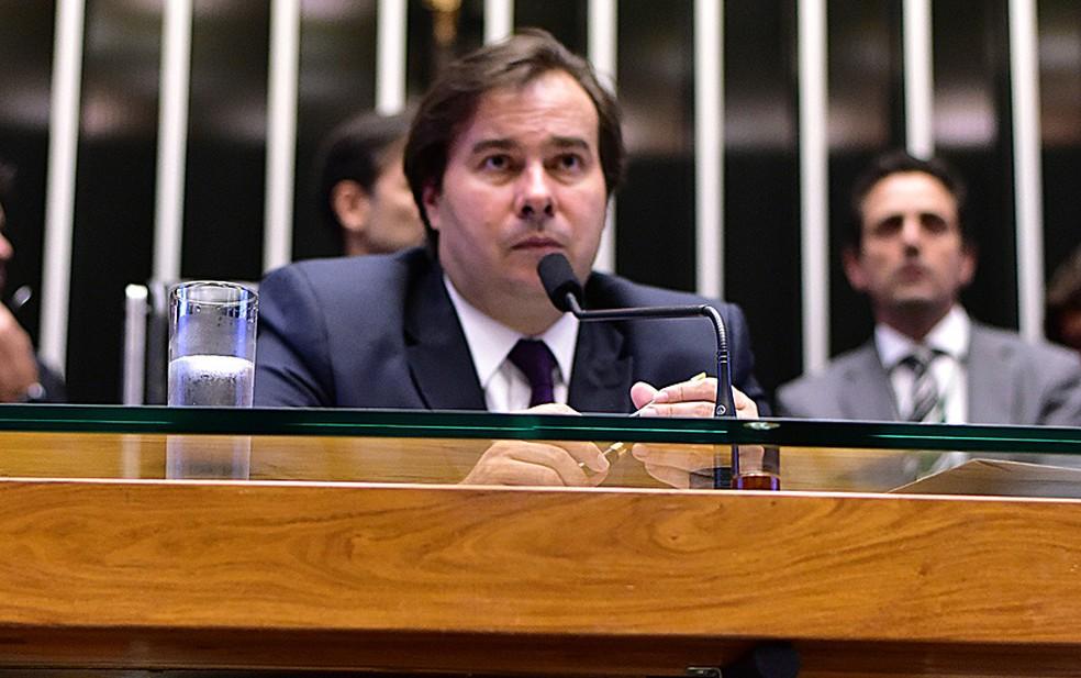 O presidente da Câmara, Rodrigo Maia (DEM-RJ) (Foto: Zeca Ribeiro/Câmara dos Deputados)