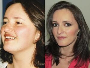 Risco de problemas de saúde fez Márcia mudar o estilo de vida e perder 38 kg (Foto: Arquivo pessoal)