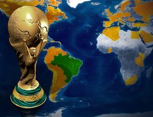Veja onde a taça está agora e o mapa com todos os países do tour (Infoesporte)