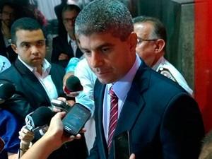 Secretário de Segurança Pública do Estado da Bahia, Maurício Barbosa (Foto: Maiana Belo/G1)
