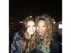 Bruna Marquezine curte show de Miley Cyrus com amigos famosos