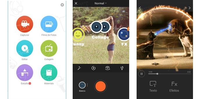VivaVideo é o editor com mais opções de filtros, efeitos e outros recursos (Foto: Divulgação)