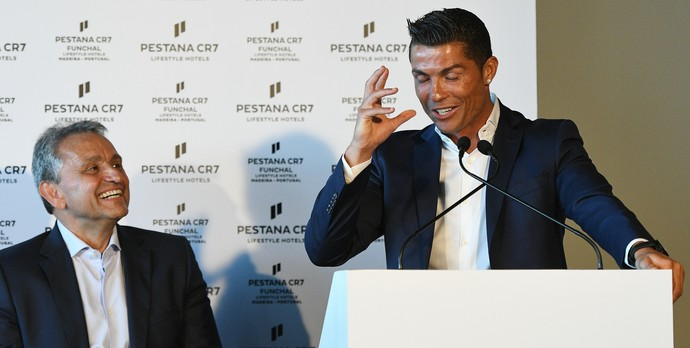Cristiano Ronaldo na Ilha da Madeira (Foto: Getty Images)