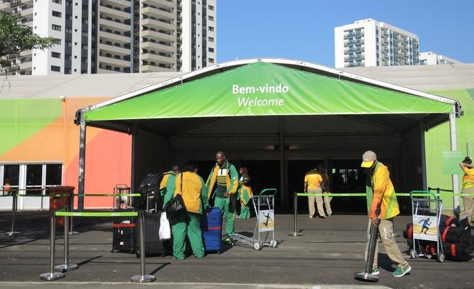 Vila Olímpica África do Sul (Foto: David Abramvezt)