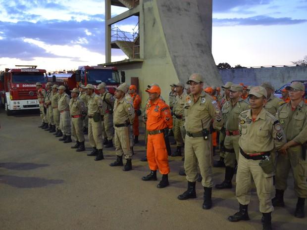 Bombeiros do Amazonas serão deslocados para municípios (Foto: Marcelo Marques/ G1 RR)