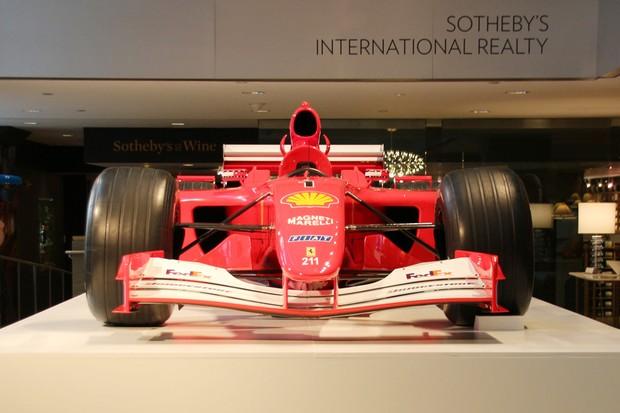 Ferrari de Schumacher é vendida por R$ 24,6 milhões em leilão nos EUA (Foto: Christina Horsten / DPA)