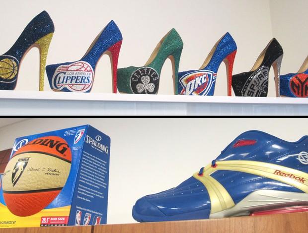 Escritório da NBA em Nova York (Foto: Gabriel Fricke)