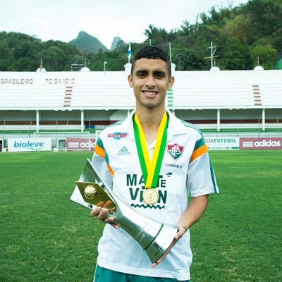Daniel, sub-20 Fluminense (Foto: Bruno Haddad - Fluminense FC)