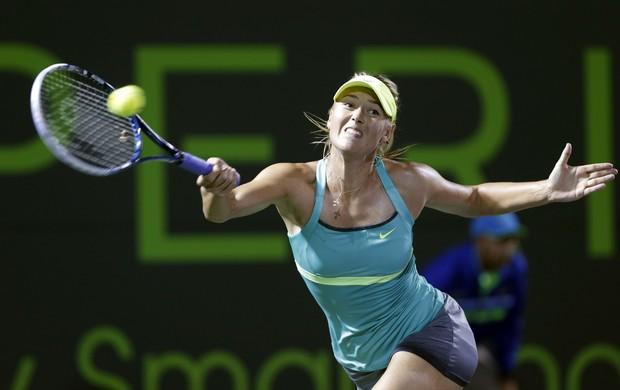 Maria Sharapova segunda rodada Miami (Foto: AP)