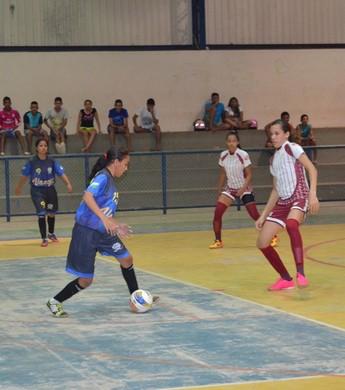 Campeonato Roraimense de Futsal Feminino Sub-20 (Foto: Nailson Wapichana)