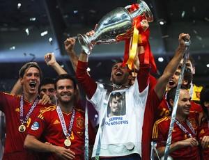 sergio ramos camisa espanha especial campeã eurocopa (Foto: Getty Images)