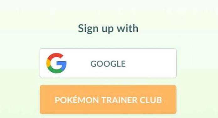 Vá até a tela de login do Pokémon Go (Foto: Reprodução/Murilo Molina)