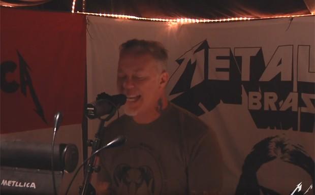 Metallica no vídeo de 'Atlas, rise' (Foto: Divulgação)