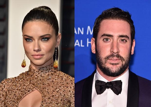 Adriana Lima e Matt Harvey: novo casal (Foto: Getty Images )
