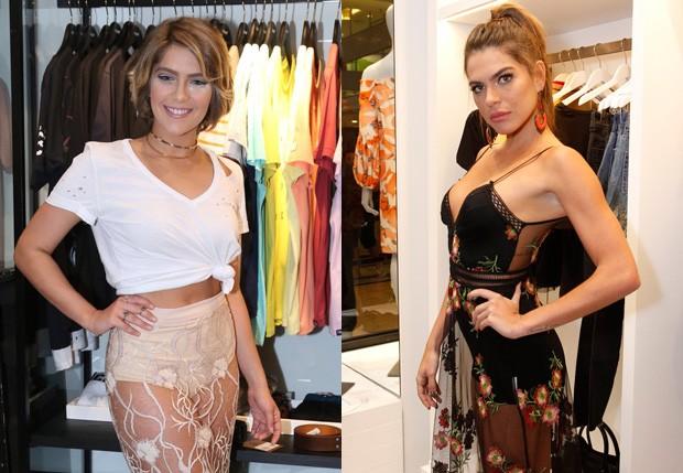Isabella Santoni e Mariana Goldfarb (Foto: Anderson Borde/AgNews e THyago Andrade/Brazil News)