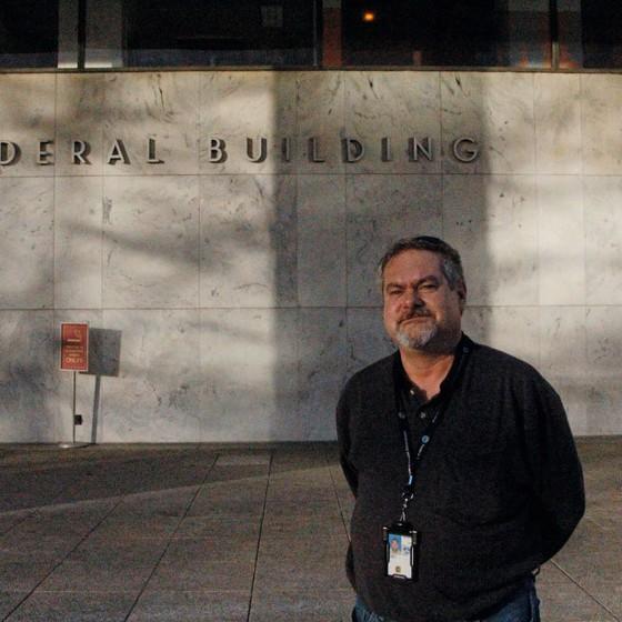 Jim Conroy,funcionário da Agência Federal de Aviação,em Wahington (Foto: Lourival Sant'Anna/ÉPOCA)