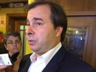 'Não sou candidato do governo', diz Rodrigo Maia em Porto Alegre