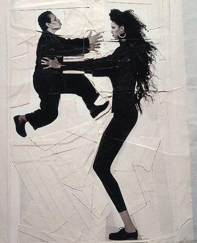 Azzedine Alaïa e Farida Khelfa (Foto: reprodução/instagram)