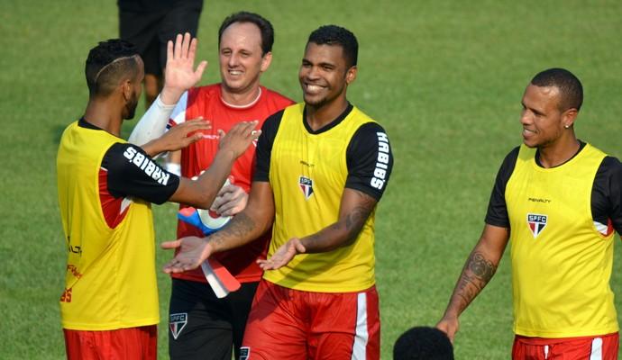 Rogério Ceni Breno São Paulo (Foto: site oficial / saopaulofc.net)