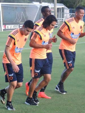treino colombia (Foto: Alexandre Lozetti)