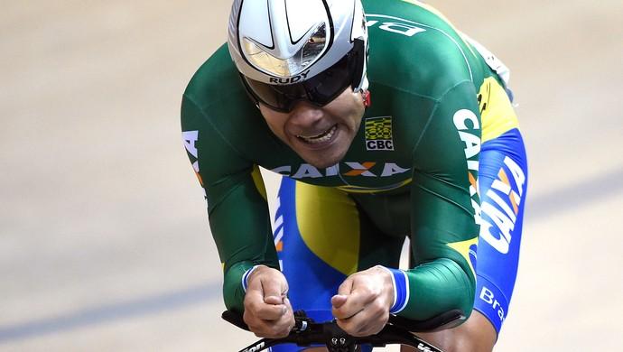 Gideoni Monteiro ciclismo (Foto: Agência AFP )