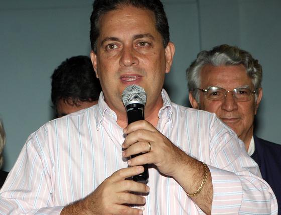 Nelson Nahim ,ex-prefeito de Campos,condenado por prostituição de menor.Ele pode assumir vaga na Câmara (Foto:  Gerson Gomes/Prefeitura Campos)