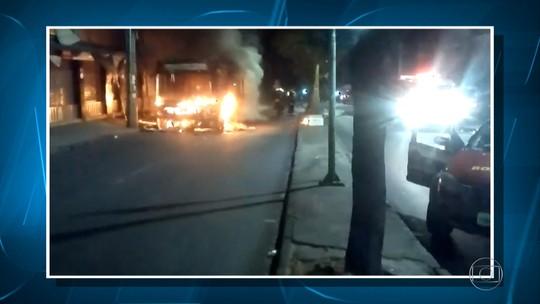 Homem é preso suspeito de pôr fogo em ônibus em Ribeirão das Neves