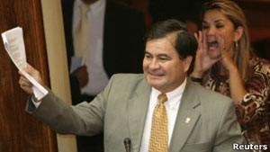 O senador de oposição boliviano Roger Pinto Molina (Foto: Reuters)