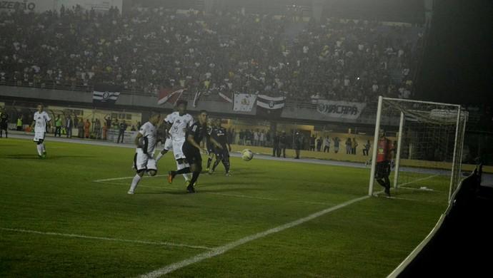 Santos-AP x Remo; Copa Verde (Foto: Rosivaldo Nascimento/Arquivo Pessoal)