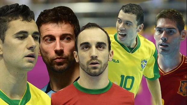 Bola Ouro futsal (Foto: Divulgação/Fifa)