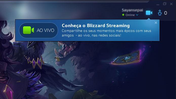 Saiba como usar o Blizzard Streaming e transmitir jogos no Facebook (Foto: Reprodução/Felipe Vinha)