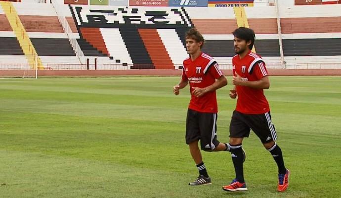Wesley e Helton Luiz (Foto: Antônio Luiz/EPTV)