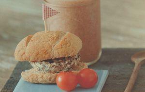 Receita de hambúrguer vegano com shitake