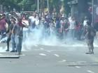 Venezuela barra protesto contra Maduro em Caracas