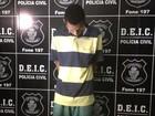 Polícia apresenta suspeito de roubar casas e comércios na Grande Goiânia