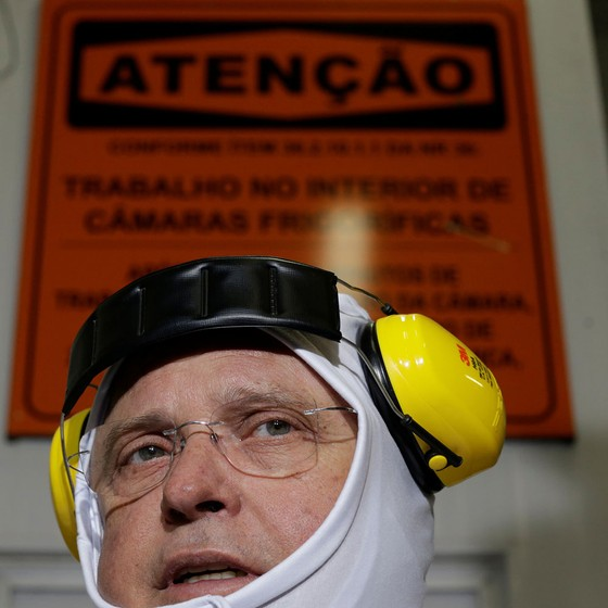 Blairo Maggi,ministro da Agricultura (Foto: Ueslei Marcelino / Reuters)