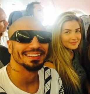 Fernando Medeiros e Aline Gotschalg (Foto: Reprodução / Instagram)
