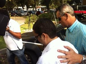 Réu é acusado de matar jornalista Rodrigo Neto (Foto: Patrícia Belo/ G1)