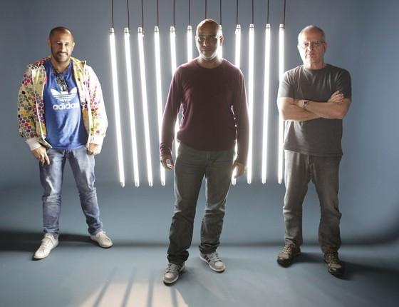 José Júnior, Samuca e Luis Erlanger são os nomes que comandam a aguardada série (Foto: Carlos Fofinho)