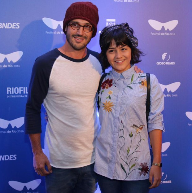Giullia Buscacio e Leandro Pagliaro (Foto: Daniel Pinheiro/AgNews)