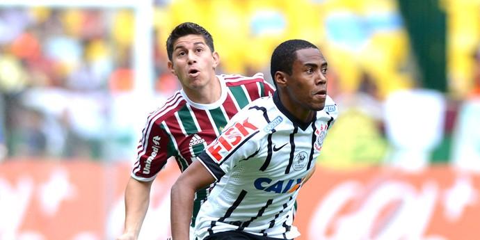 Conca, Fluminense X Corinthians (Foto: Andre Durão)