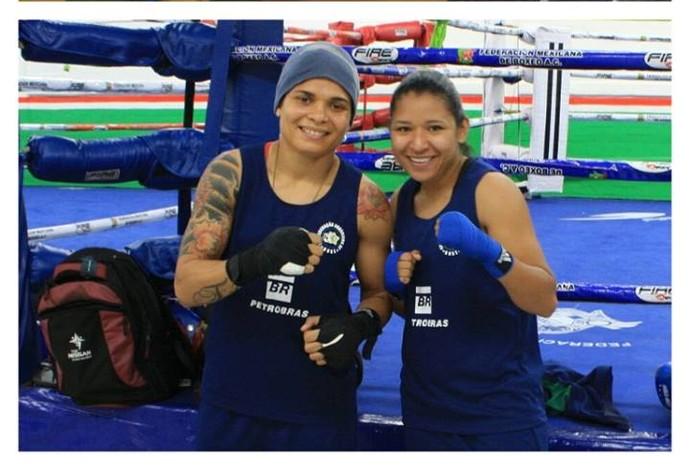 Taynna boxe feminino - Mundial (Foto: Reprodução/Facebook)
