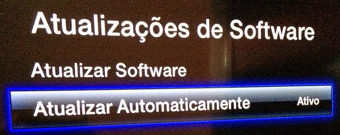 Opção de atualização automática de software depois de ativada (Foto: Reprodução/Edivaldo Brito)