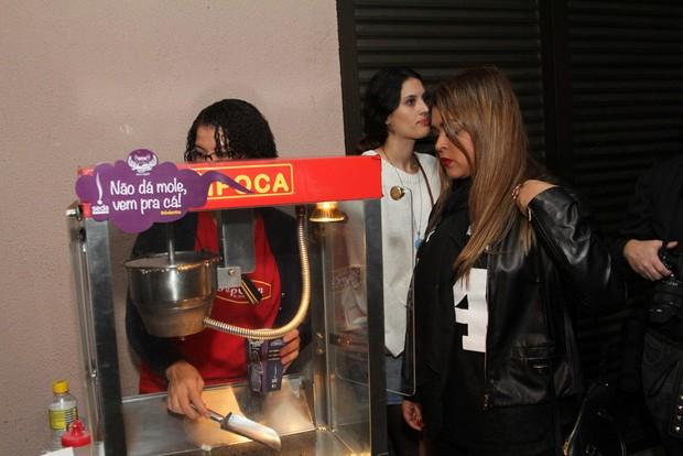 Preta Gil em show de Anitta no Rio (Foto: Anderson Borde/ Ag. News)