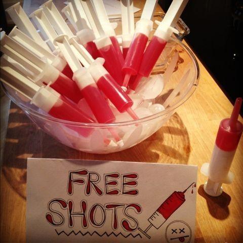 Shot na seringa (Foto: Reprodução/Pinterest)