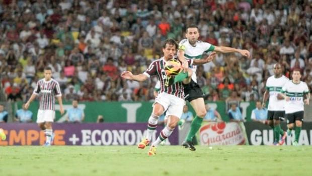 Confronto Fluminense x Coritiba (Foto: Site oficial do Coritiba/Divulgação)