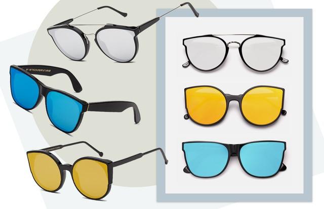 Os óculos da Visionari (Foto: Arte Vogue Online)