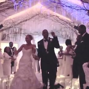 Jay-z e Beyoncé casamento (Foto: Reprodução/ Instagram)